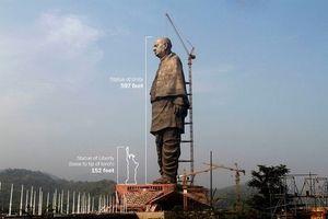 Ấn Độ 'chơi trội' với tượng đài 408 triệu USD, cao gấp 4 lần Nữ thần Tự do