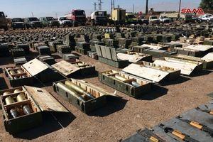 Chùm ảnh: Quân đội Syria giành chiến lợi phẩm gần Cao nguyên Golan