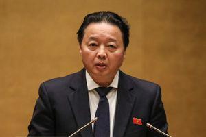 Bộ trưởng Trần Hồng Hà mở màn phiên chất vấn sôi động