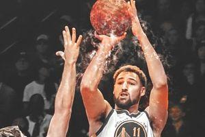 Klay Thompson bật chế độ 'hot hand', thiêu cháy mành lưới của Chicago Bulls