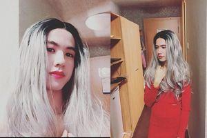 Danh tính của 'cô gái' có mái tóc bạch kim, đôi môi căng mọng trong tiệc Halloween 2018