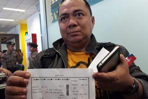 Tắc đường đã cứu sống một quan chức Indonesia vụ máy bay rơi
