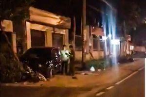 Phó công an Đồng Xoài lái ôtô, 2 người nhập viện
