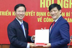 Chân dung Thứ trưởng Bộ Y tế Nguyễn Thanh Long - tân Phó trưởng Ban Tuyên giáo Trung ương