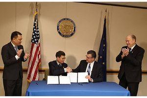 Tập đoàn Mỹ hợp tác cung cấp khí hóa lỏng tự nhiên với PV GAS