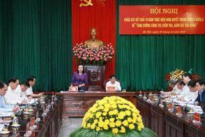 Công tác kiểm tra, giám sát của Đảng đóng góp tích cực cho công tác phòng chống tham nhũng
