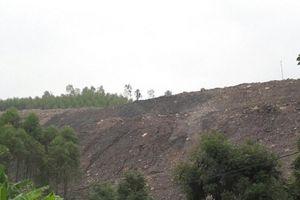 Bắc Giang: Công ty Cổ phần khoáng sản Bắc Giang đổ thải trái phép khiến người dân càng thêm bức xúc