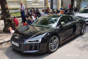 Cận cảnh siêu xe Audi R8 vừa về Bạc Liêu không lâu đã sang tay cho Cường Đô-la ?