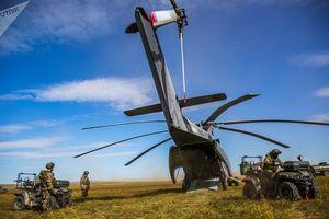 Những lần trực thăng không vận Nga bay trên những điểm nóng