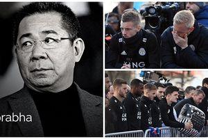 Dàn sao Leicester lặng người ở lễ tưởng niệm Chủ tịch Vichai