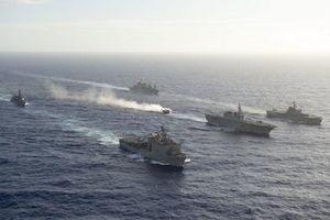 Quân đội Mỹ và Nhật Bản bắt đầu cuộc tập trận quân sự Keen Sword
