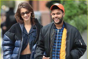 Bella Hadid và bạn trai The Weeknd tay trong tay dạo phố
