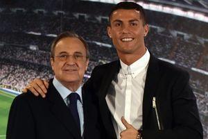 Cristiano Ronaldo tiết lộ gây sốc: 'Tôi rời Real vì Chủ tịch Perez'