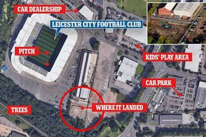 Khoảnh khắc trực thăng chở Chủ tịch Leicester City mất lái, lao thẳng xuống mặt đất