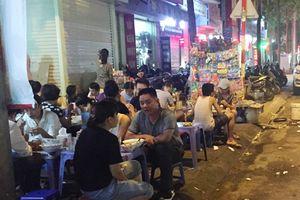 Đình chỉ hoạt động 12 cơ sở dịch vụ ăn uống đường phố