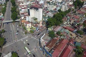 Cận cảnh con đường 'đắt nhất hành tinh' 7.200 tỷ đồng của Hà Nội từ trên cao