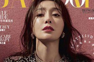 Phú Sát Hoàng Hậu Tần Lam tiếp tục được lựa chọn làm gương mặt trang bìa tạp chí Bazaar tháng 11