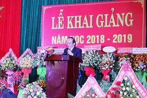 Trường Cao đẳng y tế Quảng Nam khai giảng năm học mới
