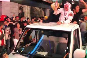 Tình trạng hỗn loạn trong lễ hội Halloween ở Nhật Bản