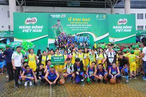 Sôi nổi Giải bóng rổ học sinh TP.HCM - Cúp Nestlé Milo 2018