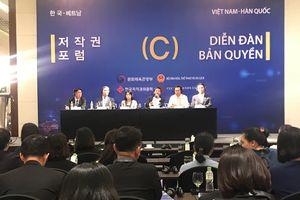 Việt Nam- Hàn Quốc thúc đẩy bảo vệ bản quyền trong môi trường số