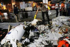 Nóng: Xác định vị trí thân máy bay Indonesia bị rơi ngoài biển
