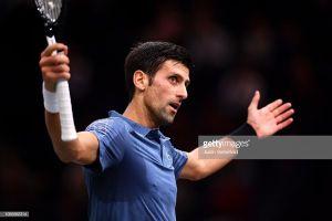 Vòng 2 Paris Masters: Djokovic khởi động mỹ mãn