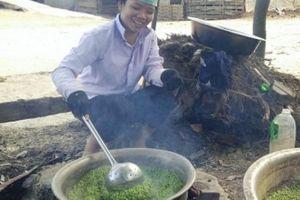 Sơn La: Làng đặc sản cốm lúa nếp tan thơm nức, xem là thèm