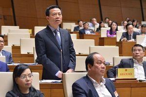 Tân Bộ trưởng TT-TT Nguyễn Mạnh Hùng 'ra mắt' QH, trả lời về an ninh mạng, sim rác