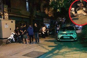 Tài xế Mazda CX5 rút súng bắn lái xe taxi?