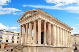 Kinh ngạc vẻ nguyên vẹn của ngôi đền La Mã từ TK 1