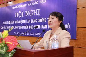 Tăng cường giảng dạy hiệu quả tiếng Việt cho trẻ em dân tộc thiểu số