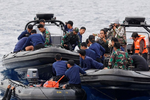 Indonesia xác định được địa điểm phần của thân máy bay gặp nạn