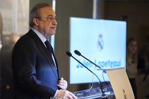 Real Madrid tan nát là do chủ tịch Florentino Perez