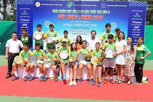 Quần vợt trẻ Việt Nam thay đổi rõ rệt