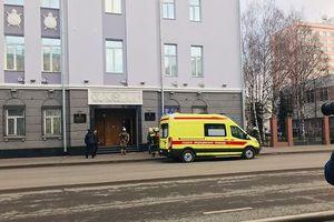 Nổ ở cổng vào trụ sở Cơ quan An ninh Liên bang Nga, có thương vong