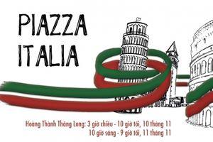Tuần lễ Ẩm thực và Hội chợ Văn Hóa 'Quảng Trường Italia'