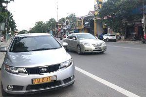 173 xe ô tô biển 74LB được miễn thuế nhập khẩu