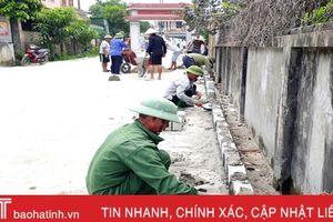 'Đảng viên đi trước' xây dựng đô thị văn minh ở thị trấn Nghèn