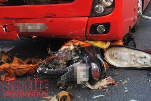 Tai nạn giữa xe khách và xe máy làm 2 người chết ở Quảng Ninh