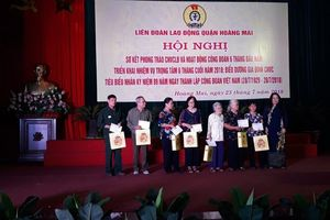 LĐLĐ quận Hoàng Mai: Điểm nhấn 9 tháng năm 2018