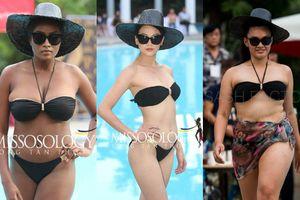 Đối thủ Phương Khánh bất ngờ để lộ hình xăm, tăng cân chóng mặt tại vòng thi hình thể Miss Earth