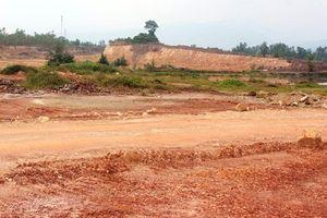 Quảng Bình: Khu công nghiệp Tây Bắc Quán Hàu gần 10 năm xây dựng vẫn còn dang dở