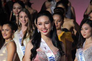 Gu thời trang sành điệu, tinh tế của Thùy Tiên ở Miss International