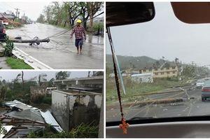 Siêu bão Yutu tàn phá Philippines: 10.000 người sơ tán khẩn - hàng loạt ngôi nhà bị san bằng