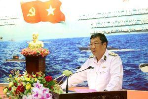 Bồi dưỡng kiến thức quốc phòng, quân sự cho cán bộ cao cấp Hải quân