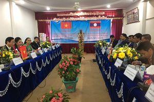 Ban Tuyên giáo Tỉnh ủy Quảng Trị và Ban Tuyên huấn Tỉnh ủy Salavan (Lào) hội đàm ghi nhớ hợp tác
