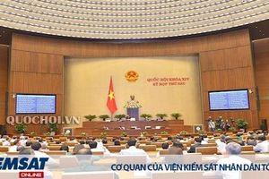 Viện trưởng Lê Minh Trí trả lời thẳng thắn, đầy đủ các chất vấn của Đại biểu Quốc hội