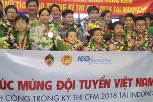Học sinh Hà Nội xuất sắc tại cuộc thi quốc tế Thử thách nhà Toán học tương lai