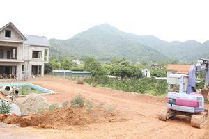 Xử lý nghiêm các công trình vi phạm ở rừng đặc dụng Sóc Sơn